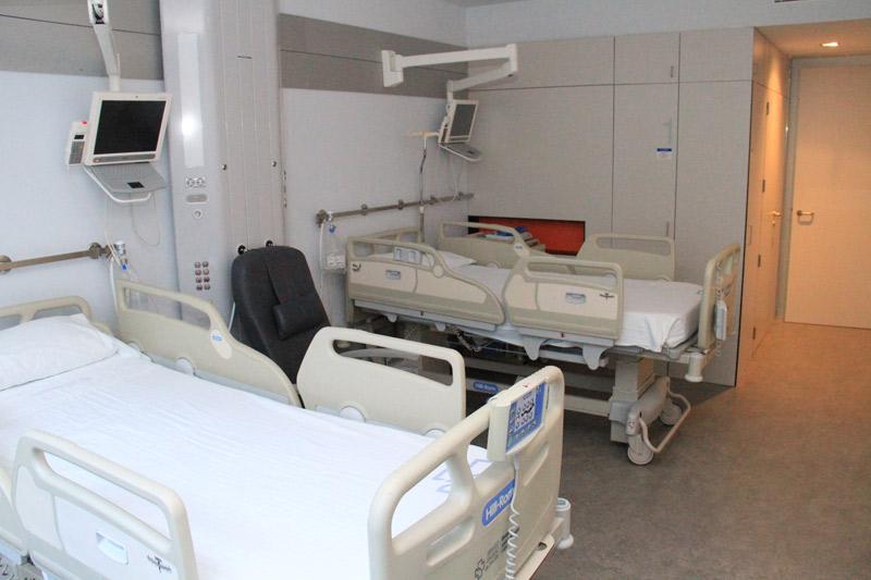 Hospitalización camas