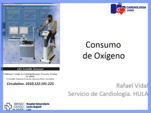 Consumo de Oxigeno HULA